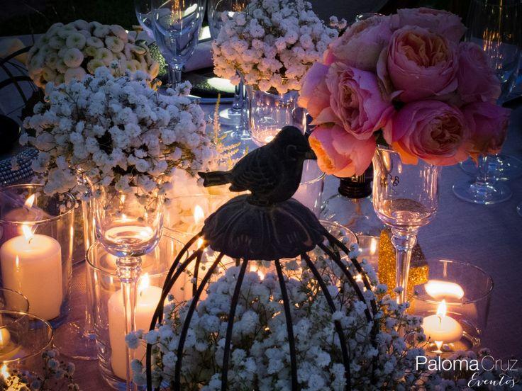 estilo sabby chic en bodas