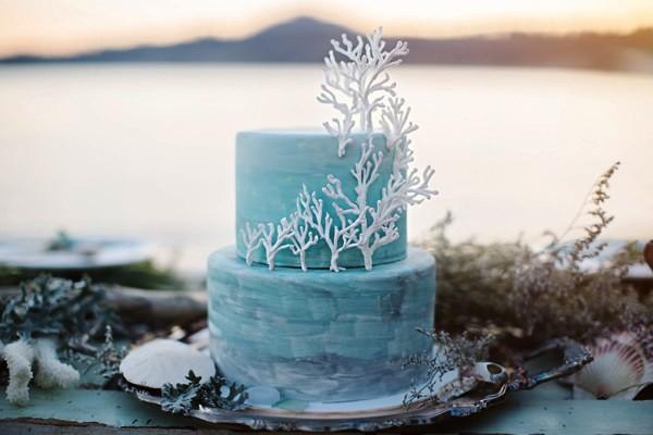 tarta de boda inspiracion marina