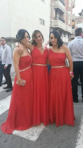 damas de honor Elche