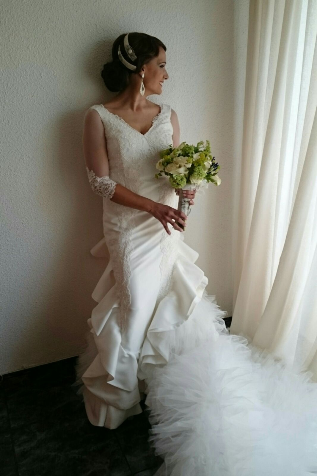 vestido de novia andaluz